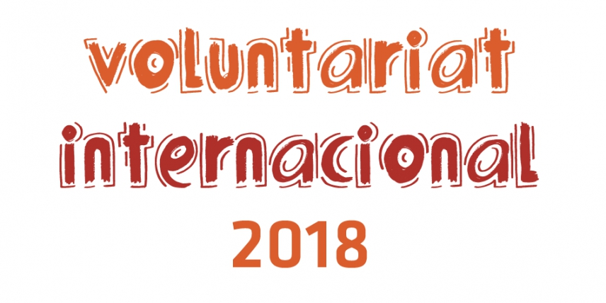 Apunta't al Voluntariat Internacional 2018